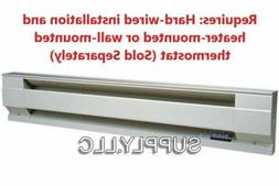WALL ELECTRIC BASEBOARD HEATER by CADET Convection Heat 120V