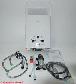 WiseWater Outdoor Portable Tankless Propane Gas Water Heater